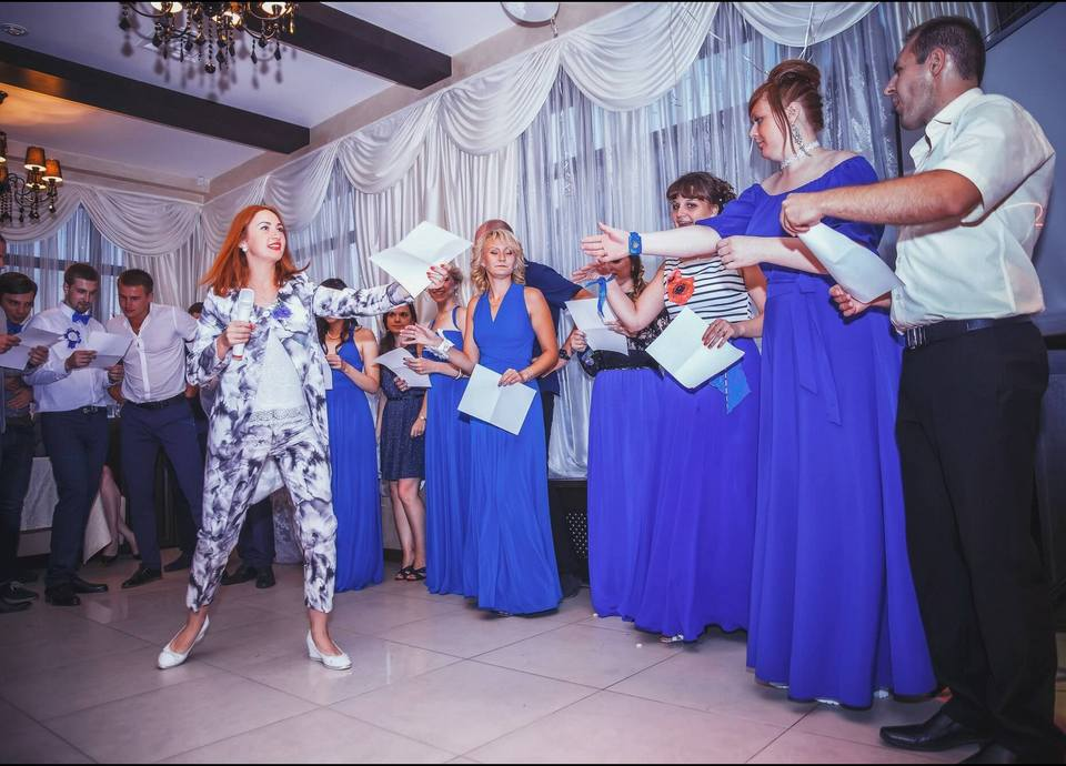 Ведение свадеб в Москве