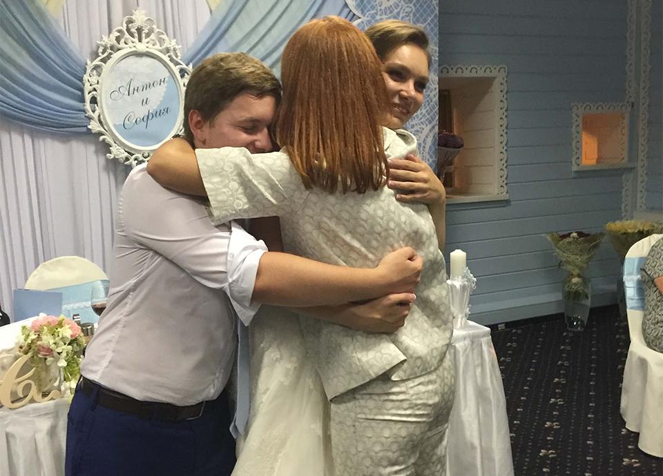 Ведущая на свадьбу в Москва